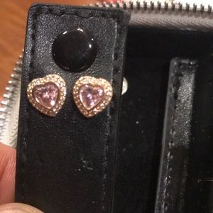 Pandora Rose Gold Heart Earrings